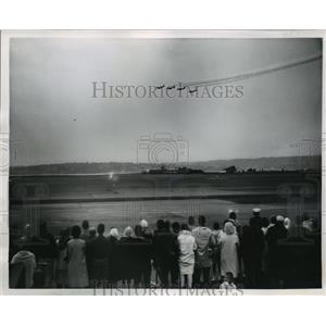 1962 Press Photo Sand Point Naval Air Station Royal Canadian Golden Hawks Show