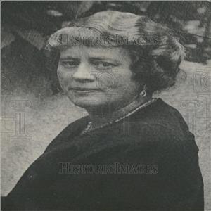 1931 Press Photo Mrs. Paul Gentry