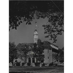 1946 Press Photo Williamsburg, Virginia General Assembly Capitol Building