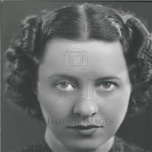 1936 Press Photo Singer Georgia Graves