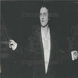 1937 Press Photo Antonia Brico Woman Symphony Director