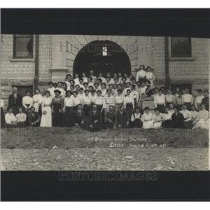 1909 Press Photo 12th District Institute Delta Colorado