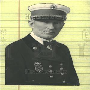 1929 Press Photo Chief John Healy