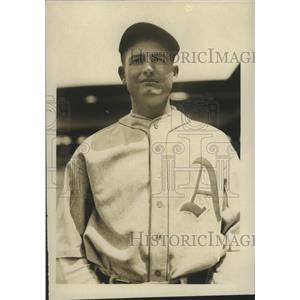 1928 Press Photo Bill Shores, pitcher, Philadelphia Athletics - sbs01381