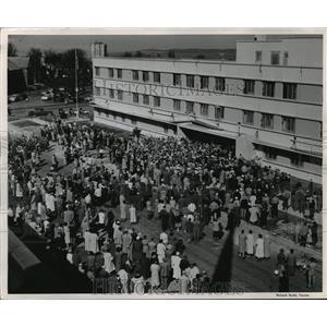 1955 Press Photo Tacoma, Washington Bridges Children's Hospital - ftx01352