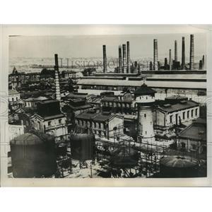1939 Press Photo Poland Smoke Stacks - ftx01343