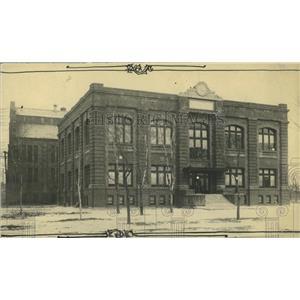 1922 Press Photo Denver West Side Court Building