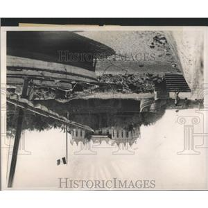 1938 Press Photo Djibuti Governors Palace Port