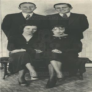 1933 Press Photo H. Fisk, A Owen, P Peltzel, R Williams