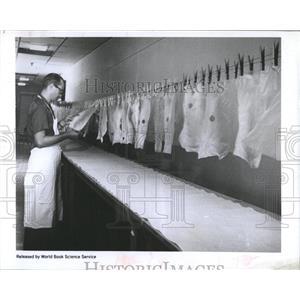 1960 Press Photo Artificial skin