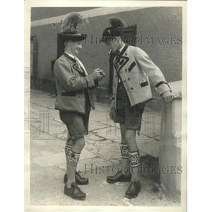 1932 Press Photo Berchtesgaden Bacaria Germany