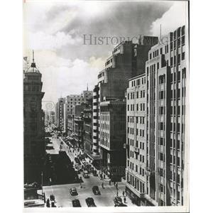 1946 Press Photo Downtown Johannesburg Commissioners St