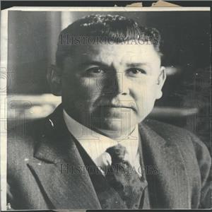 1923 Press Photo Adolfo de la Huerta Mexican Politician - RRY26425