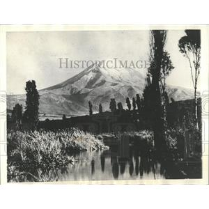 1936 Press Photo Plane Crash Mt Popocatepetl in Mexico