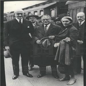 1931 Press Photo Max Litvinoff Commissioner Union Herr