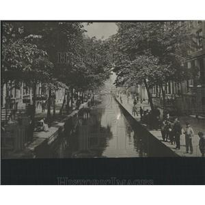 1916 Press Photo AMSTERDAM STREET NETHERLANDS