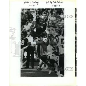 1991 Press Photo New Orleans Saints- Saints vs San Diego - nos01136