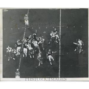 1968 Press Photo New Orleans Saints- Saints action shot. - nos01286