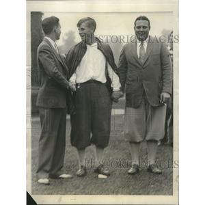 1931 Press Photo Amateur golf Championship John Lehman, Charles Seaver