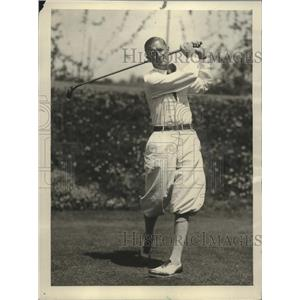 1926 Press Photo golfer George Kerrigan, Flintridge Country Club - net32376