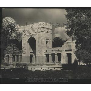 1918 Press Photo Neuilly-sur-Seine's crypt