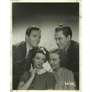 """1937 Press Photo """"You Can't Take It with You"""" Movie Cast - ftx02550"""