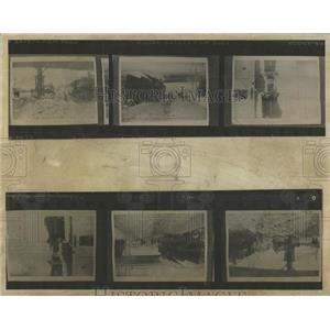 1913 Press Photo Snow Denver Historic Photographs