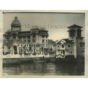1922 Press Photo Brazillian State Building, Rio de Janiero - ftx02084