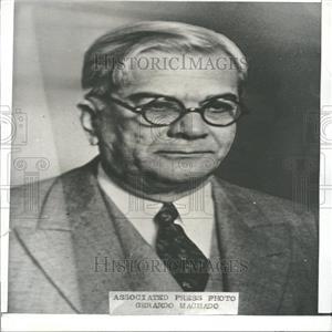 1935 Press Photo Cuban President Gerardo Machado