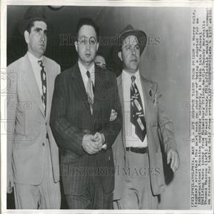 1951 Press Photo Harry Gold Soviet Espionage Courier