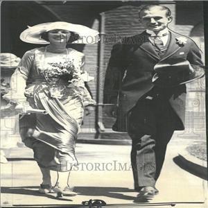 1923 Press Photo Irene Castle Paris Castle matrimonial