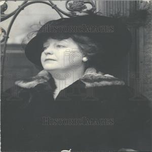1918 Press Photo Mrs. Edward Leach of New York City