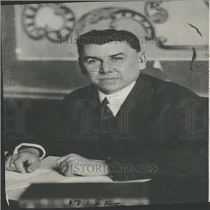 1924 Press Photo Mexican Politician Adolfo De La Huerta - RRY26417
