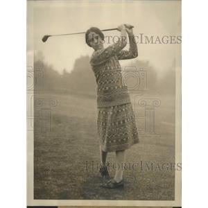 1926 Press Photo Virginia Wilson of Chicago defeats Glenna Collett in Natl. Golf