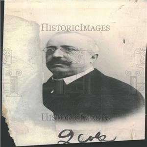 1918 Press Photo Herr Krupp Portrait Germany