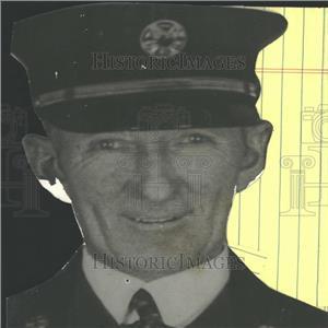 1912 Press Photo Denver Fire Chief John Healy