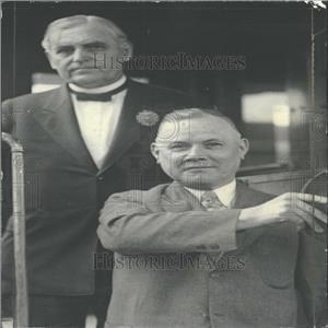 1927 Press Photo PRESIDENT WILLIAM GREEN TRADE UNION