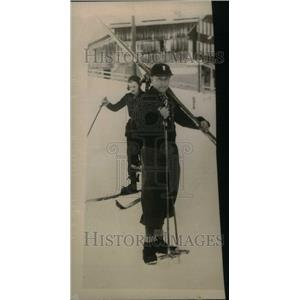 1931 Press Photo Captain De Grillo Famous Cartoonist