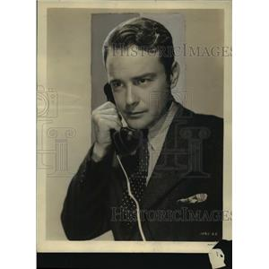"""1939 Press Photo Scene from """"Calling Dr. Kildare"""" Starring Lew Ayres"""
