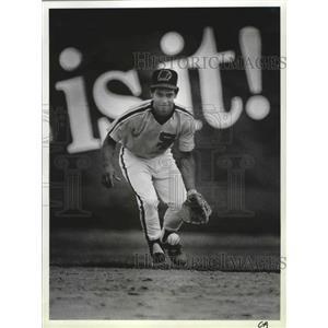 1985 Press Photo San Diego Padres baseball player, Joey Cora - sps03450