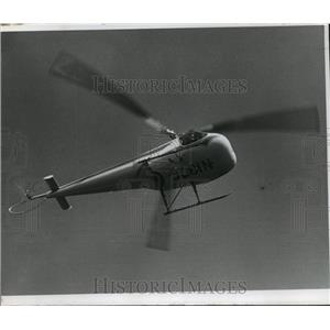 1966 Press Photo Enstrom F-28 Helicopter Made in Michigan - mja59540