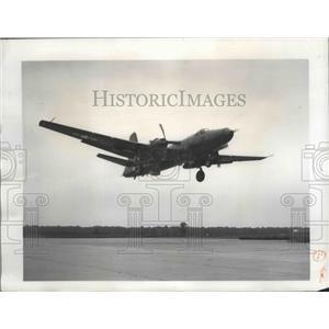 1949 Press Photo Martin P4M-1 Mercator taking off from Martin Airport