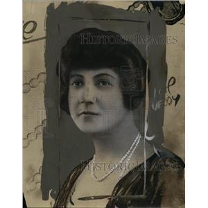 1925 Press Photo Mrs Horace Dodge, Widow of Auto Manufacturer - neo01222