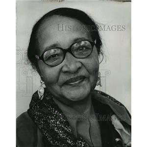 1900 Press Photo Juanita White Brown National Association of Colored Womens Club