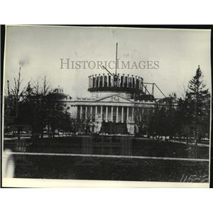 1857 Press Photo Building of the United States Capitol Dome in Washington D.C.