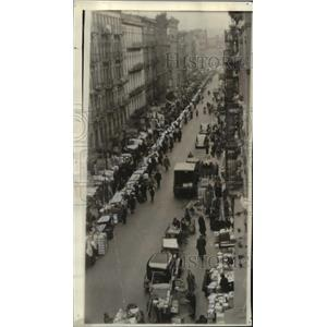 1939 Press Photo Pushcart Markets of Manhattan's Lower East Side to Disappear