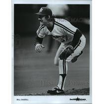 1983 Press Photo Bill Caudill of the Seattle Mariners  - spa75074