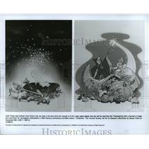 1969 Press Photo Scenes from Walt Disney's animated classic, Cinderella.