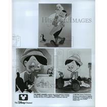 1940 Press Photo Scenes from Walt Disney's animated classic, Pinocchio.