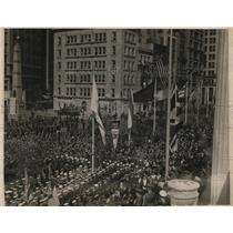 1918 Press Photo New York Sir Henry B Smith speaks at Madison Square NYC